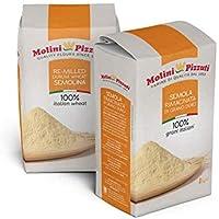Semola Rimacinata De Trigo Duro Molini Pizzuti 2 Pack x 1 Kg
