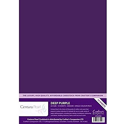 10 SHEETS LILAC PEARL A4 PAPER