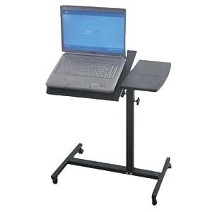 Pyle Pro PLPTS1 Professional DJ Grade Laptop/Notebook Computer Rolling Stand