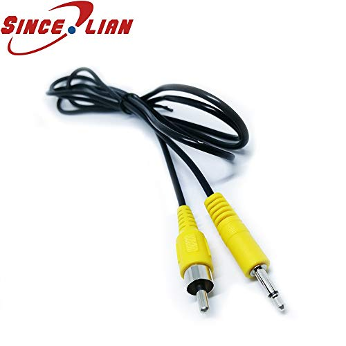 Davitu SINCILIAN 3.5mm Cable Connector Mono Male Plug Single Male Cord 1.5m Lotus Line RCA Connect Line Audio Video Cable Adapte - (Insert Type: 1.5meter) ()