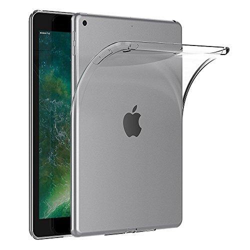 (Gosento Samsung Galaxy Tab S4 Case, Crystal Clear Shock Absorption Cover Soft TPU Gel Anti Scratch Transparent Back Case for Samsung Galaxy Tab S4 Samsung Galaxy Tab S4 SM-T830 Wi-Fi (Frosted White))