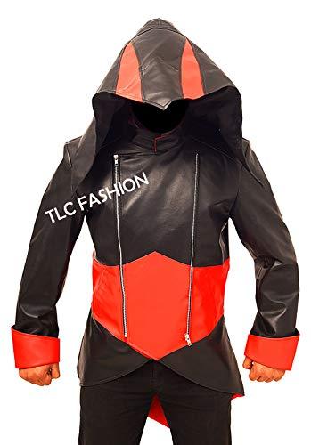 Mens Black Connor Kenway Jacket - Assassins Creed Jacket/Hoodie -