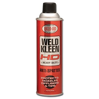 Weld-Aid Weld-Kleen Heavy Duty Anti-Spatter Liquid, 20 oz