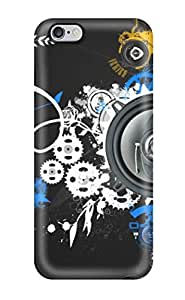 Iphone Case - Tpu Case Protective For Iphone 6 Plus- Music Art