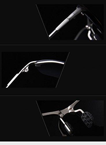 Gafas hombres de Conducción protecciónn sol de de y Color amp; amp;Gafas LYM sol para de de Gafas magnesio aleación de Gafas polarizadas sol D Gafas aluminio D Gafas 7xwAzOUqOt