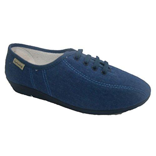 Merletti Wedge scarpe Muro jeans
