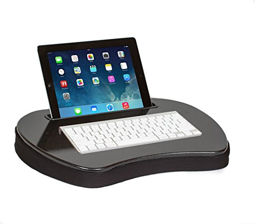 Sofia + Sam Mini Memory Foam Lap Desk with Tablet Slot by Sofia + Sam