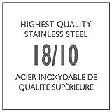 Lagostina T9910464 Stainless Steel Espresso Coffee