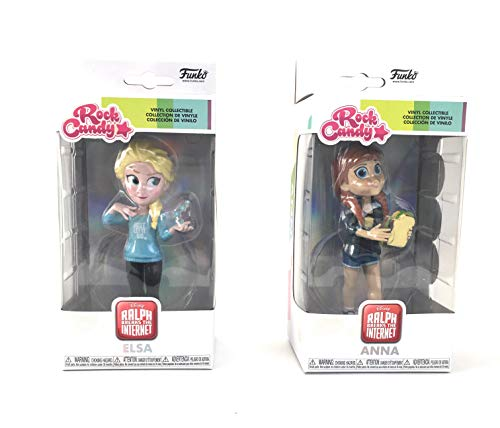 Elsa and Anna from Ralph Breaks The Internet Exclusive Rock Candy Vinyl Figures 5