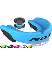 RDX Gum Shield Boxing Mouth Guard MMA Kickboxing Muay Thai Bite Guard Mouthpiece Mouth Protector Martial Arts Hockey Judo Karate Rugby