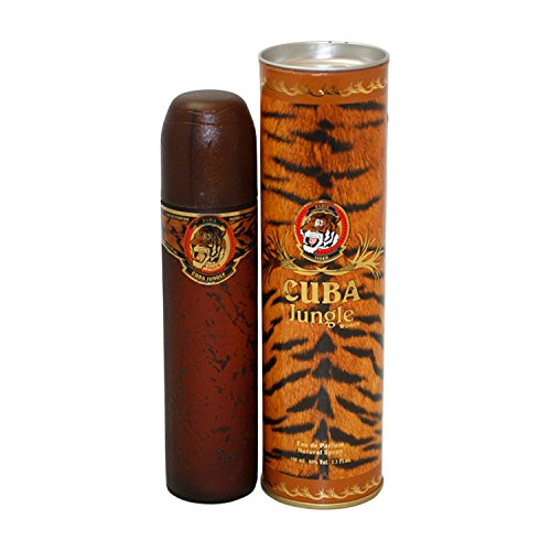 Cuba Jungle Tiger By Cuba For Women. Eau De Parfum Spray 3.3 Ounces (Cuba Jungle)