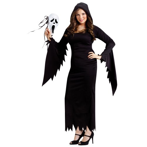 Ghost Face Killer Costume (Scream Ghost Face Gown Adult Costume (Medium/Large))