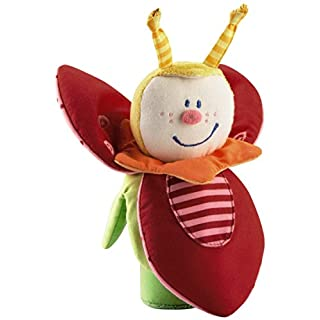 HABA Trixie Beetle Soft Rattle