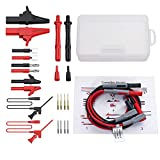 Proster 24pcs Multimeter Test Lead Kit Electrical