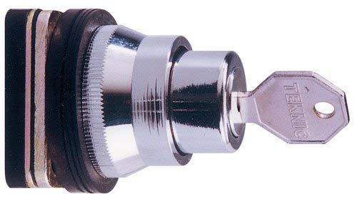 Metal Removal Center Maintained 30mm Selector 3-Position Keyed Alike