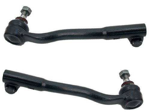 (BMW e38 Tie Rod End Left+Right (x2) OEM TRW)