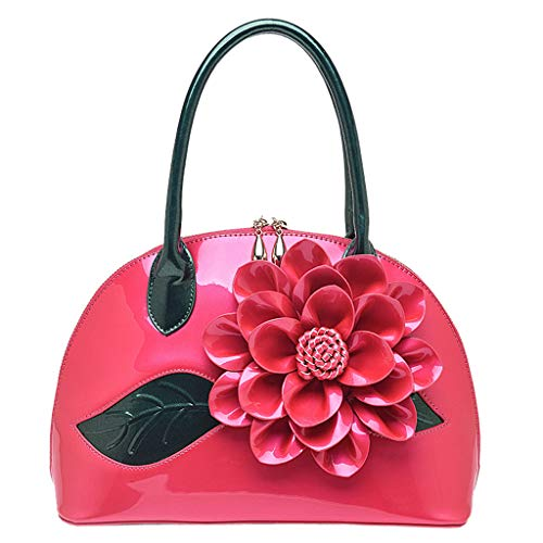m·kvfa Women's Fashion Diagonal Cross Bag Flower Shell Bag High-End Shoulder Bag Top-Handle Handbags Clutch Handbags Handbag Organizers Satchel Handbags (Hot -