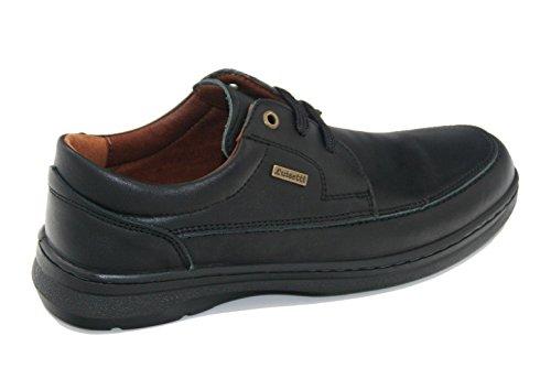 Piel Zapato Negro Luisetti 43 24802 Cordones 54AqqwxfT