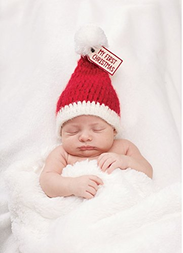 MY FIRST CHRISTMAS KNIT HAT -