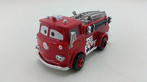 Mattel Disney Pixar Car 2 Red Firetruck Diecast Toy Car 1:55 Loose New In Stock - Stall Holder Costume