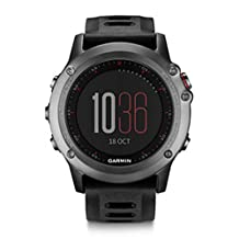 Garmin Fenix 3 Multisport Training GPS/GLONASS Watch, Gray
