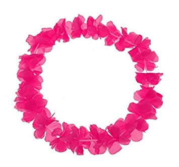 So pack of 30 flower garlands pink plain coloured flower petals so pack of 30 flower garlands pink plain coloured flower petals hawaiian lei hawaiian mightylinksfo