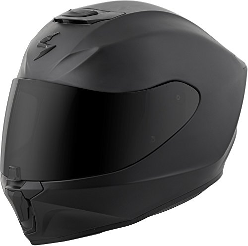 Scorpion EXO-R420 Full-Face Solid Street Bike Motorcycle Helmet - Matte (Matt Black Small Helmet)