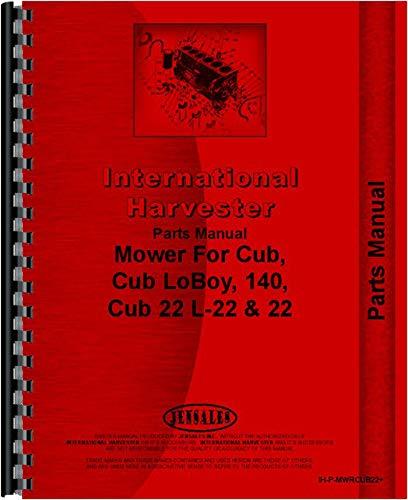 International Harvester Parts Manual IH-P-MWRCUB22 Patio, Lawn ...