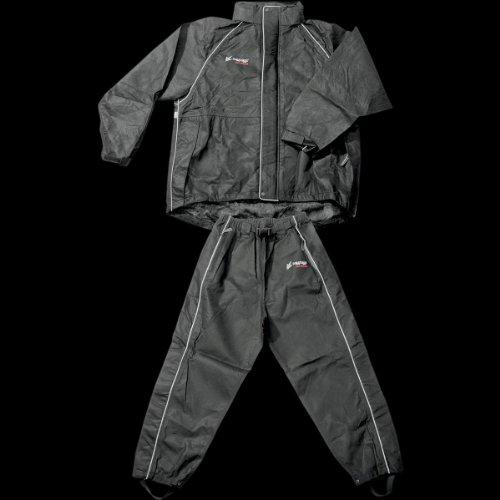 - Frogg Toggs Women's Cruisin Toggs Rainsuit (Black, Medium) (TT10599-01MD)