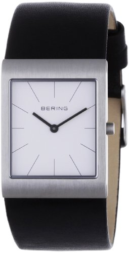 BERING Time 11620-404 Womens Classic Collection Watch with Calfskin Band and scratch resistant sapphire crystal. Designed in Denmark.