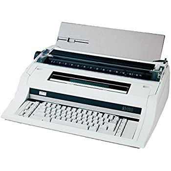 Nakajima Electronic Typewriter with Display & Memory, English