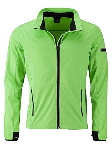 Funzionale green Lo Giacca Sport E Per Promozionale Sports Il Jacket Bright black Libero Men's Softshell Tempo Rxx6Hw5qt