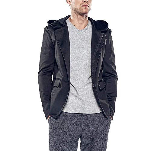 De Hombres Chaquetas Traje Los Capucha Ropa Chaqueta Lannister Con Outwear  Reizeit Slim Corte Fashion Schwarz Chándal 6XEx1S 5f0479323a7