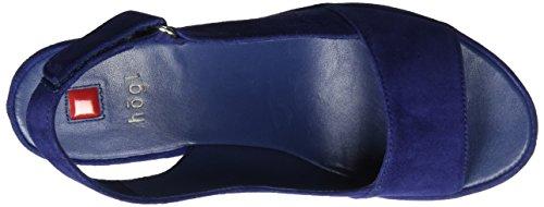 Högl 3-10 3412, Sandalias de cuña Mujer Azul (blue3200)