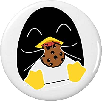 Amazon.com: Pingüino comiendo un Chocolate Chip Cookie 2.25 ...