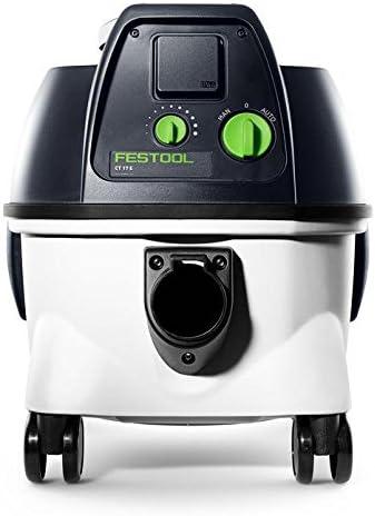 Festool 767992 767992-Sistema móvil de aspiración CT 17 E, Negro ...