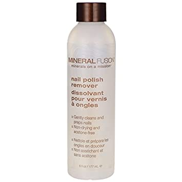 Amazon.com : Mineral Fusion Nail Polish Remover, 6 Ounce : Non ...