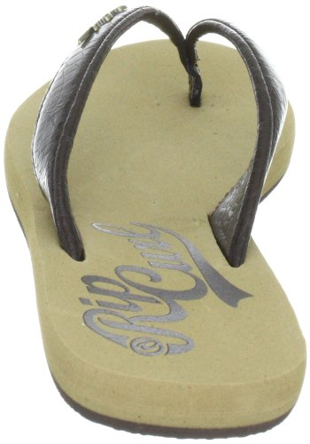 Rip Curl Pro Beach TWTN16 - Chanclas de cuero para mujer Marrón (Braun (Chocolate))