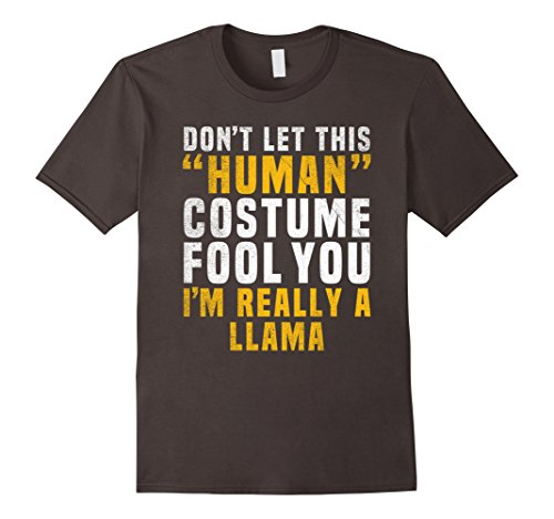 Mens Llama Funny Halloween Shirt Costume Easy for Women Men Kids 2XL (Funny Cheap Halloween Costumes Ideas)