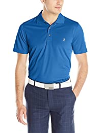 Men's Performance Golf Grid Polo