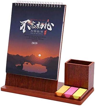 2019 Büro- / Heimkalender-Stehkalender mit Stifthalter