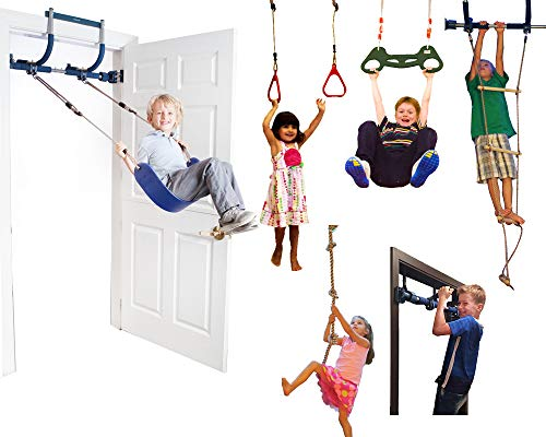 Deluxe Indoor Gym is an awesome indoor exercise toy for active kids