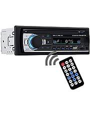AUSELECT Car Bluetooth in-Dash Radio Stereo Audio 4X60W Head Unit Player MP3/USB/SD/AUX-IN/FM