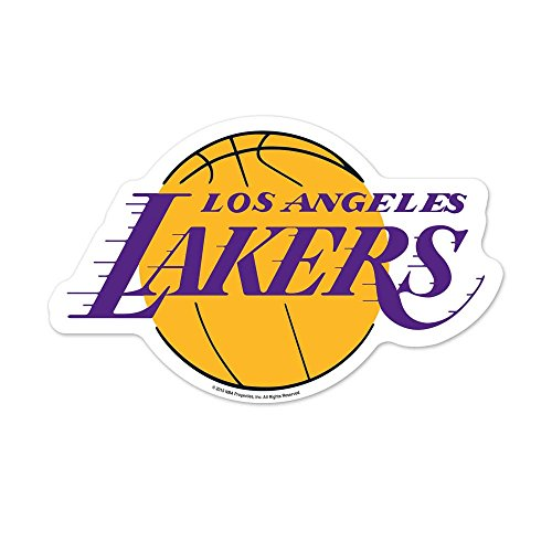 WinCraft NBA Los Angeles Lakers Logo on the GoGo Decals, Team Color, One Size