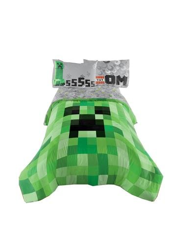 Minecraft Excellent Designed Bedding Kids Comfortable Twin / Full Comforter 72x86