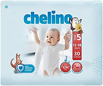 Chelino Fashion & Love, Talla 5, Pack de 6x30 (180 pañales ...
