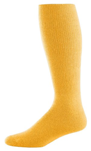 Athletic Socks - Youth Size 7-9, Color: Gold, Size: 7 - 9 by Augusta Sportswear