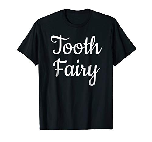 Tooth Fairy Costume T-Shirt Halloween Tooth Party ()