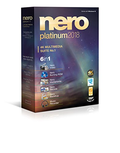 Software : Nero Platinum 2018