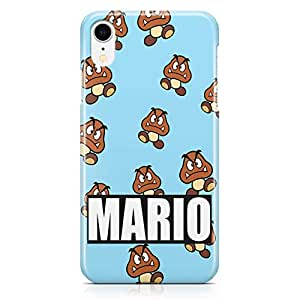Loud Universe Mario Brother Enemey iPhone XR Case Pattern Style iPhone XR Cover with 3d Wrap around Edges